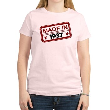 Stamped Made In 1937 Women's Light T-Shirt