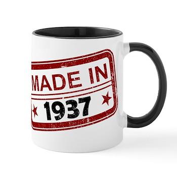 Stamped Made In 1937 Mug