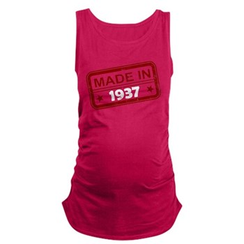 Stamped Made In 1937 Maternity Tank Top
