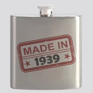 Stamped Made In 1939 Flask