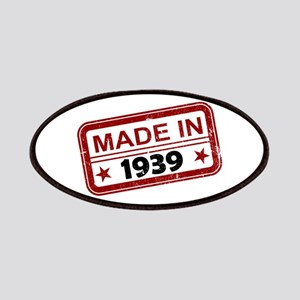 Stamped Made In 1939 Patches