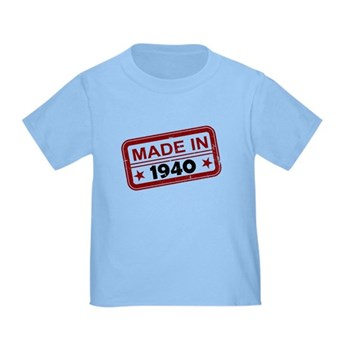Stamped Made In 1940 Infant/Toddler T-Shirt