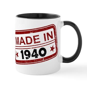 Stamped Made In 1940 Mug