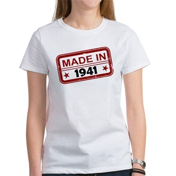 Stamped Made In 1941 Women's T-Shirt