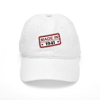 Stamped Made In 1941 Cap