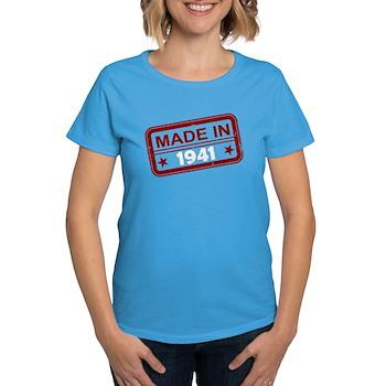 Stamped Made In 1941 Women's Dark T-Shirt
