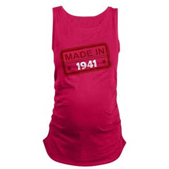Stamped Made In 1941 Maternity Tank Top