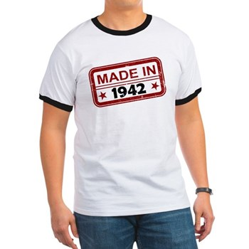 Stamped Made In 1942 Ringer T-Shirt