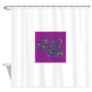 Morning Glory Shower Curtains