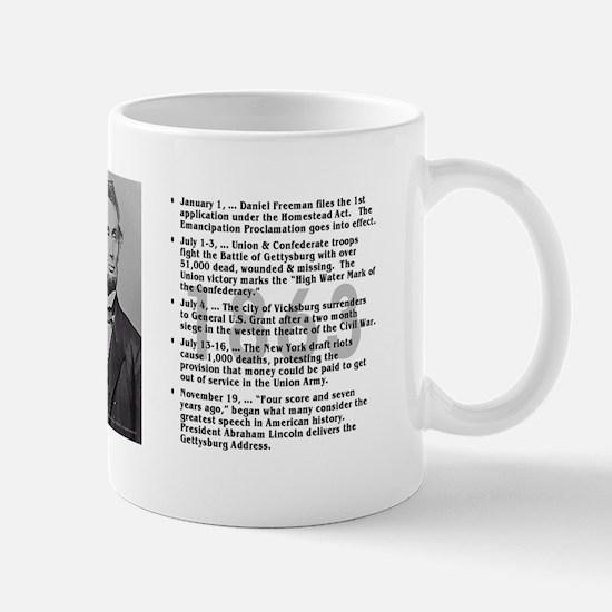 Timeline 1863 Mug