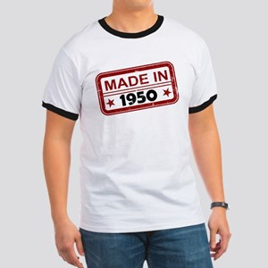 Stamped Made In 1950 Ringer T-Shirt