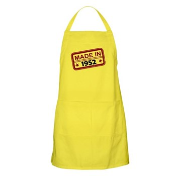 Stamped Made In 1952 Apron
