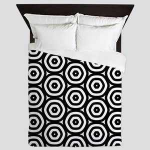 Circle Pattern Queen Duvet