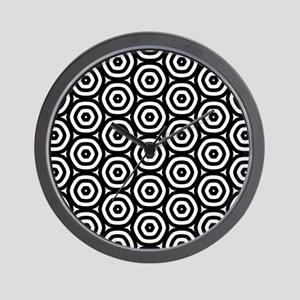 Circle Pattern Wall Clock