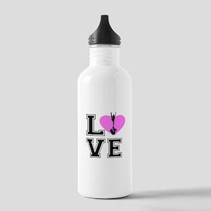 Love Cheerleading Water Bottle