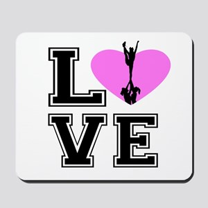 Love Cheerleading Mousepad