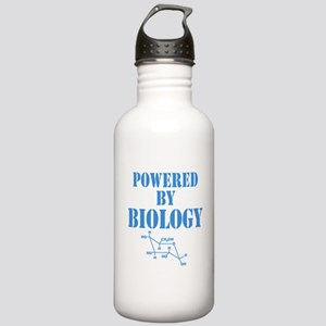 Powered By Biology Water Bottle