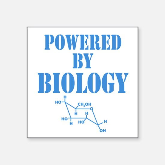 Powered By Biology Sticker