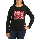 Diet Women's Long Sleeve Dark T-Shirt