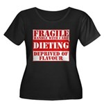 Diet Women's Plus Size Scoop Neck Dark T-Shirt