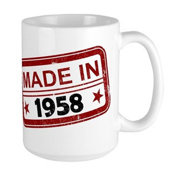 Stamped Made In 1958 Large Mug