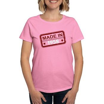 Stamped Made In 1958 Women's Dark T-Shirt