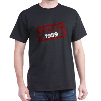 Stamped Made In 1959 Dark T-Shirt