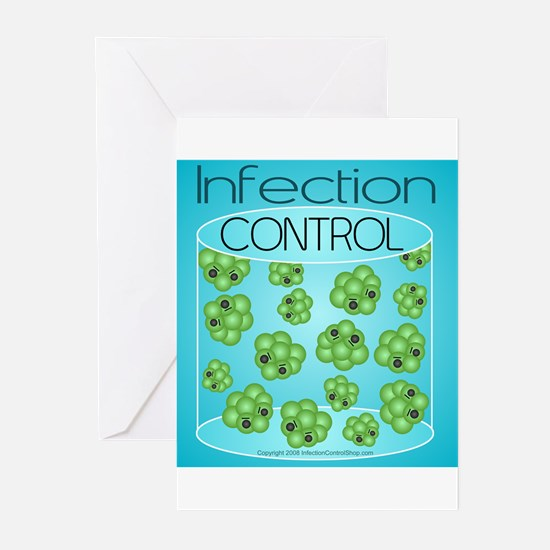 Unique Infection Greeting Cards (Pk of 10)