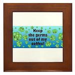 IC Ladybug MUG Framed Tile