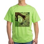 wash your hands black Green T-Shirt
