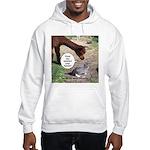 wash your hands black Hooded Sweatshirt