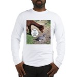 wash your hands black Long Sleeve T-Shirt