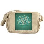 2-Flu Magnet green Messenger Bag