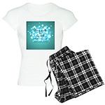 2-Flu Magnet green Women's Light Pajamas