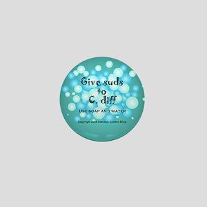 2-Flu Magnet green Mini Button