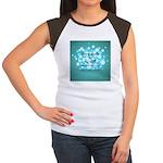 2-Flu Magnet green Women's Cap Sleeve T-Shirt