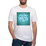 2-Flu Magnet green Fitted T-Shirt