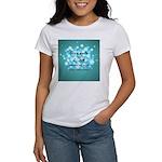 2-Flu Magnet green Women's T-Shirt