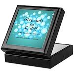 2-Flu Magnet green Keepsake Box