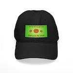 2-Flu Magnet green Black Cap
