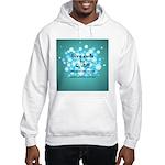 2-Flu Magnet green Hooded Sweatshirt