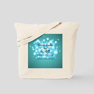 2-Flu Magnet green Tote Bag