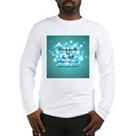 2-Flu Magnet green Long Sleeve T-Shirt