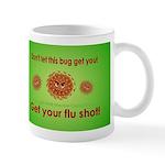 2-Flu Magnet green Mug