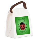 Infection Control Apperal Canvas Lunch Bag