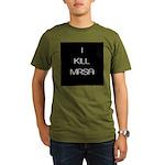 Infection Control Apperal Organic Men's T-Shirt (d