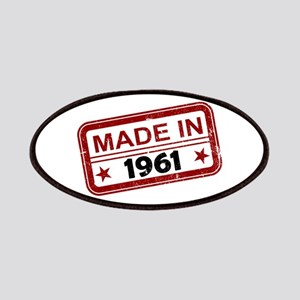Stamped Made In 1961 Patches