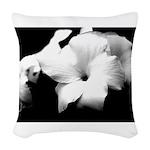 Flower 01-12x12 Woven Throw Pillow