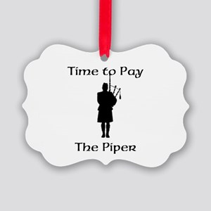 Pay the Piper Ornament