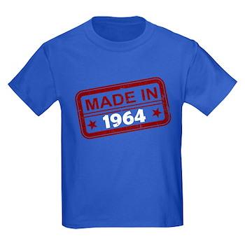 Stamped Made In 1964 Kids Dark T-Shirt